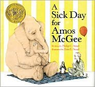 A Sick Day for Amos McGee Publisher: Roaring Brook Press (2000) by Philip C. Stead