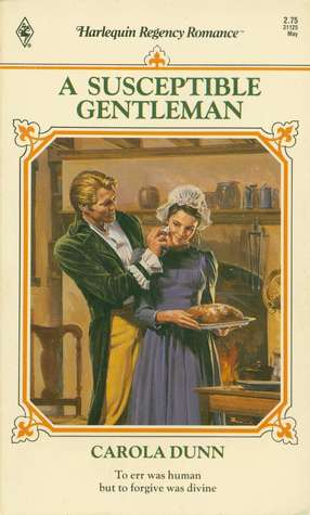 A Susceptible Gentleman (Harlequin Regency Romance Series 2, #25)