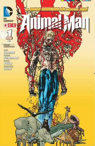 Animal Man 1 (2012) by Jeff Lemire
