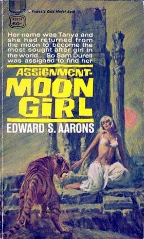 Assignment Moon Girl (1969) by Edward S. Aarons