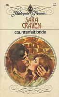 Counterfeit Bride (1982) by Sara Craven