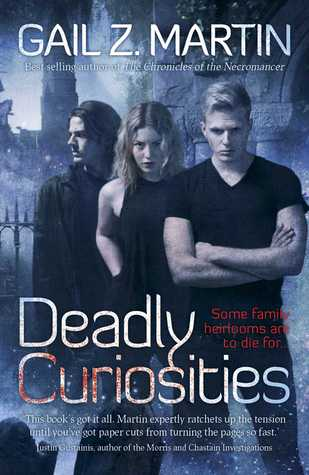 Deadly Curiosities (2014) by Gail Z. Martin