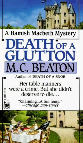 Death of a Glutton (1995) by M.C. Beaton