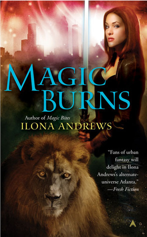 Magic Burns (2008) by Ilona Andrews