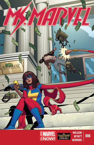 Ms. Marvel, #6: Healing Factor (2014) by G. Willow Wilson