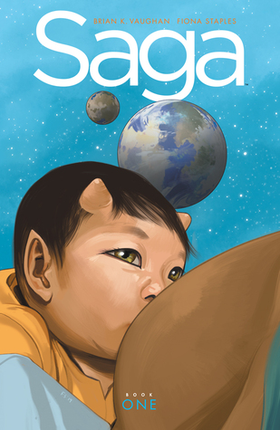 Saga Deluxe Edition, Volume 1 (2014) by Brian K. Vaughan