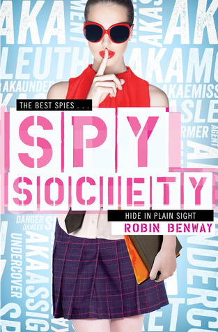 Spy Society (2013) by Robin Benway
