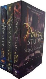 Study Trilogy Collection: Poison Study, Magic Study, Fire Study (2000) by Maria V. Snyder