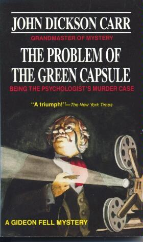 The Problem of the Green Capsule (1986)