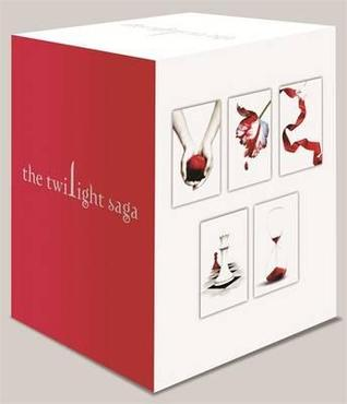 Twilight Saga 5 Book Set White Cover (2005) by Stephenie Meyer
